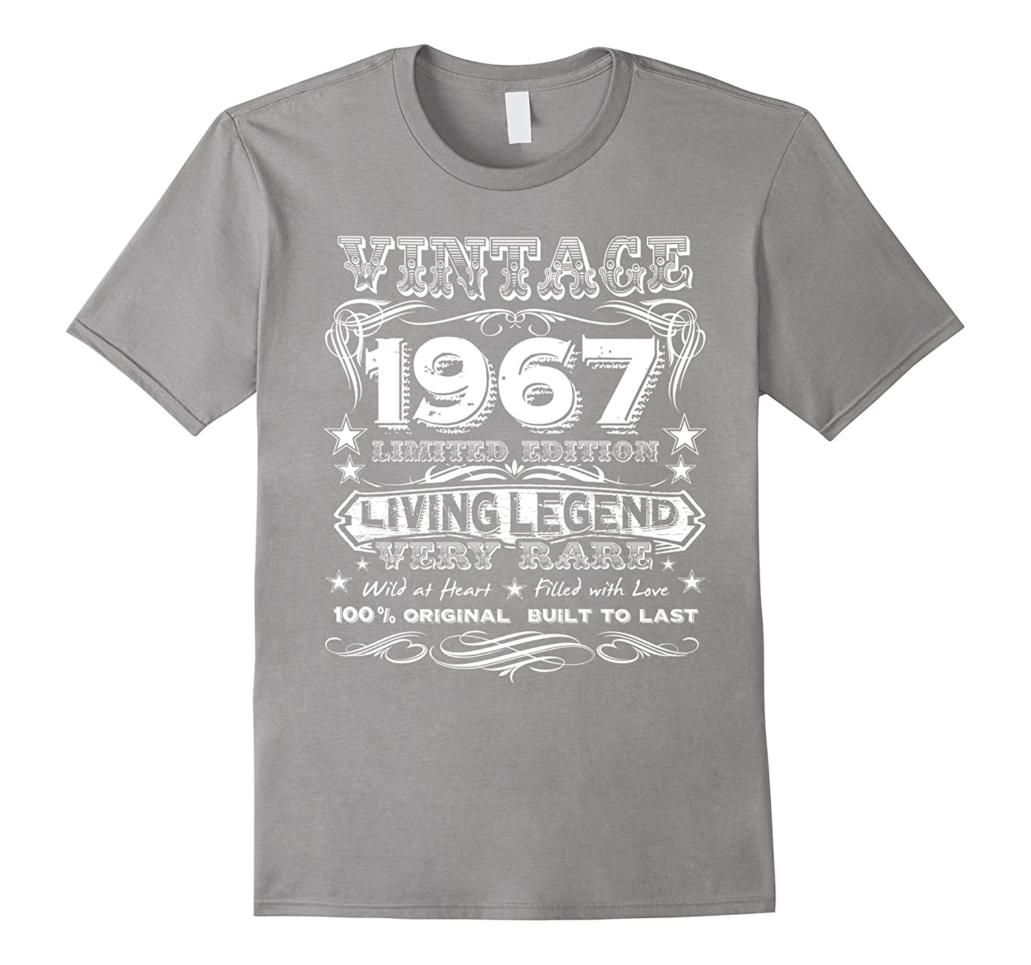 Vintage 1967 – Funny 50 Years Old 50th Birthday Gift T-Shirt-Yolotee