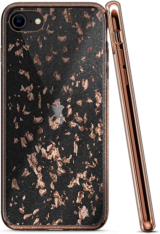 ZIZO Refine Series for iPhone SE (2020) / iPhone 8 / iPhone 7 Case - Rose Gold Exposure