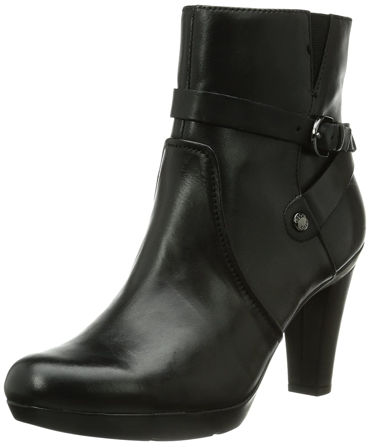 Geox D Inspirat.St Leather Ankle Boot