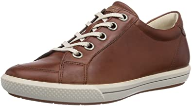 69ae31178f37 ECCO Women s Summer Zone Mahogany Firefly Low-Top Sneakers Brown Size  5.5-6