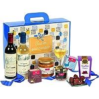 """Ducs de Gascogne - Coffret""""Tout en gourmandise"""" - comprend 7 produits dont un bloc de foie gras - spécial cadeau Noël"""