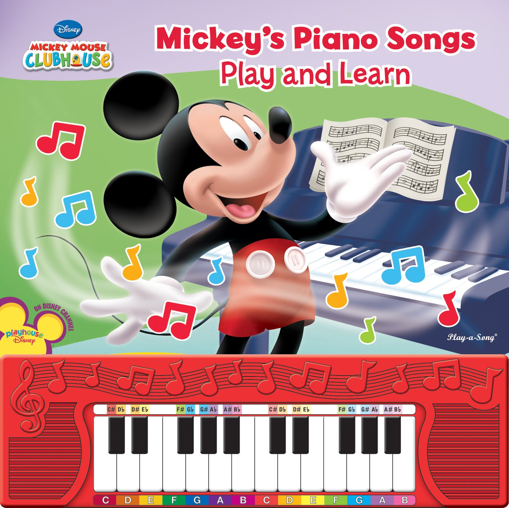Mickey's Play and Learn Piano Songs: Editors of Publications