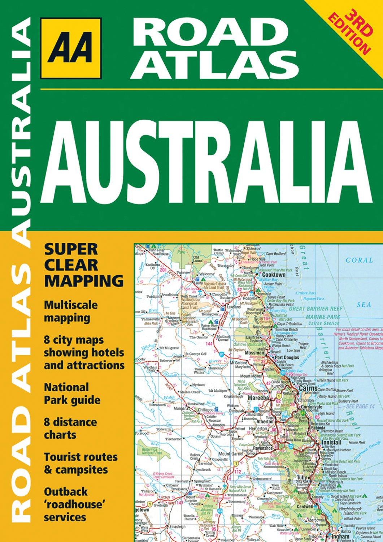 AA Road Atlas Australia pdf epub