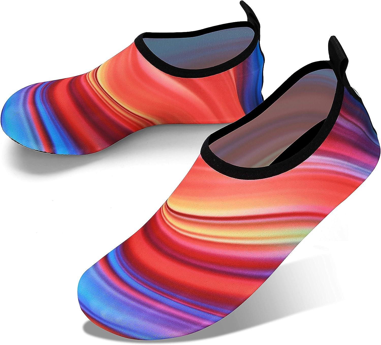 JOTO Zapatos de Agua para Mujer Hombre Niño, Zapatillas Acuáticas Secado Rápido Tipo Calcetines como Delcalzado, Escarpines Deportivos para Paseo en Playa Buceo Snorkel Kayak Surf