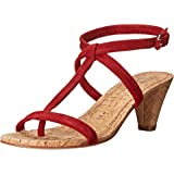 Donald J Pliner Womens VISTA-KS Open Toe Casual Leather Heeled Sandals