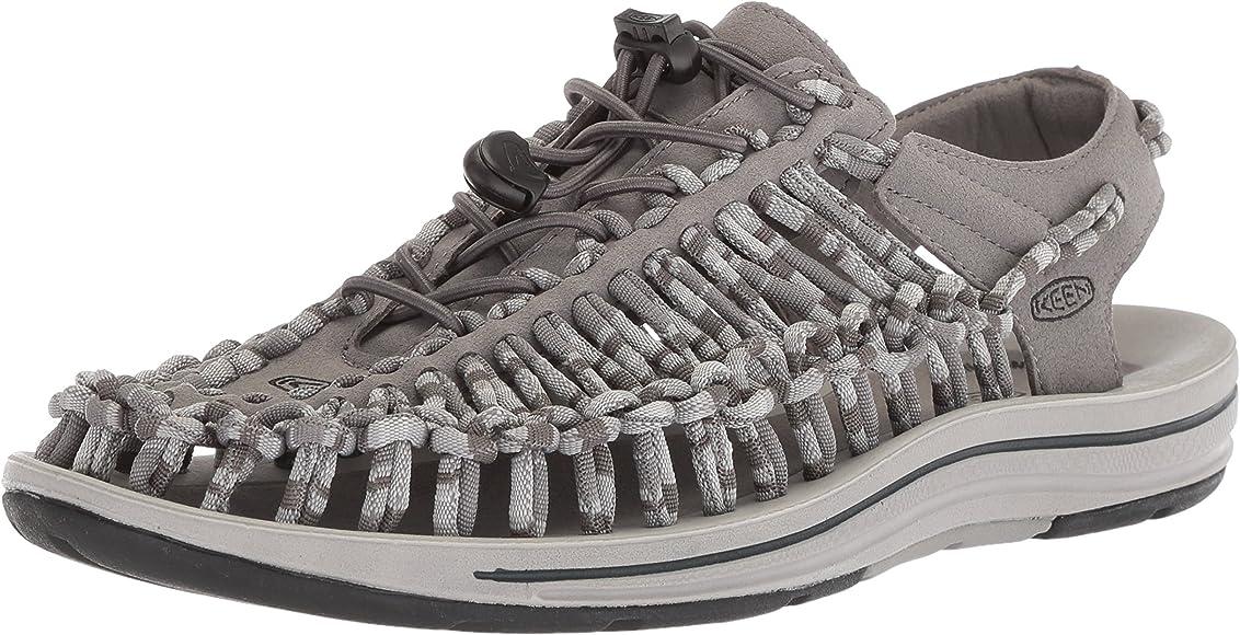 Uneek Flat-M Sandal, Steel Grey/Magnet