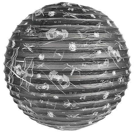 Star Wars X-Wing v Tie-Fighter Spherical Paper Light Shade ...