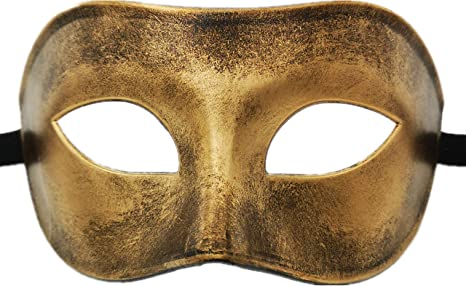 Ubauta Masquerade máscara para Veneciano Hombre Disfraz máscara ...