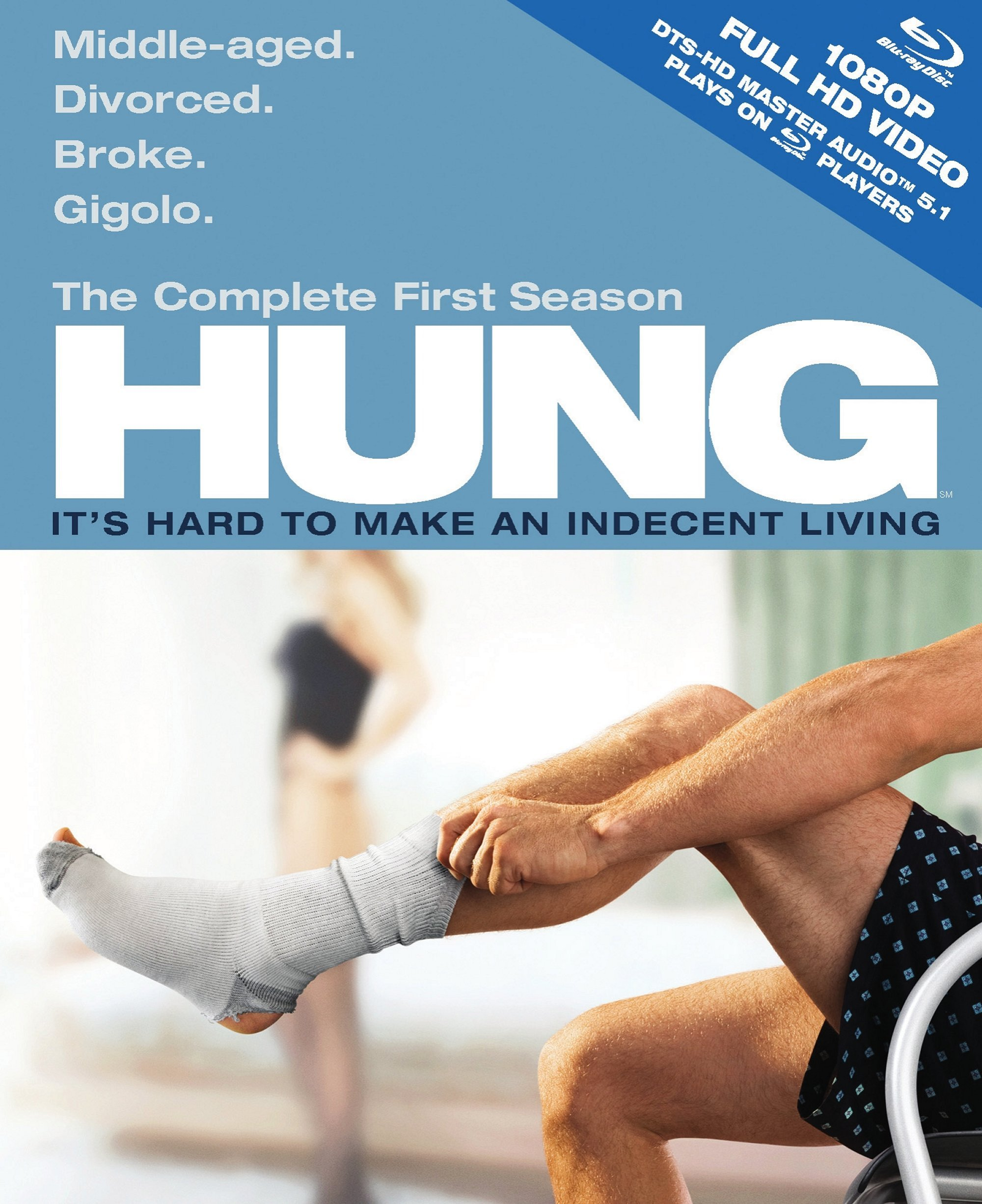Blu-ray : Hung: The Complete First Season (, Dubbed, Dolby, AC-3, Slipsleeve Packaging)