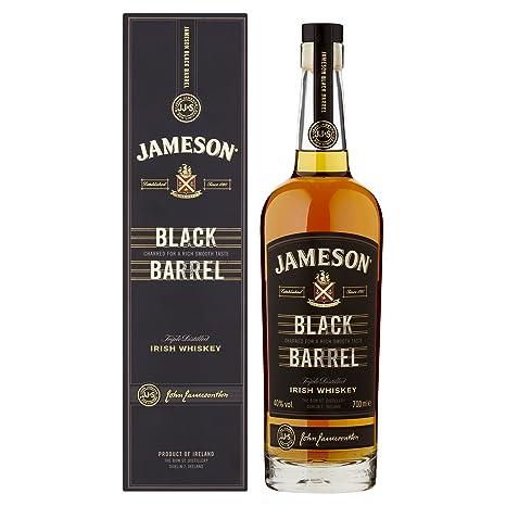 Jameson Black Barrel Irish Whiskey – Blended Irish Whiskey mit Jameson Single Irish Pot Still Whiskeys und seltenem Grain Whi