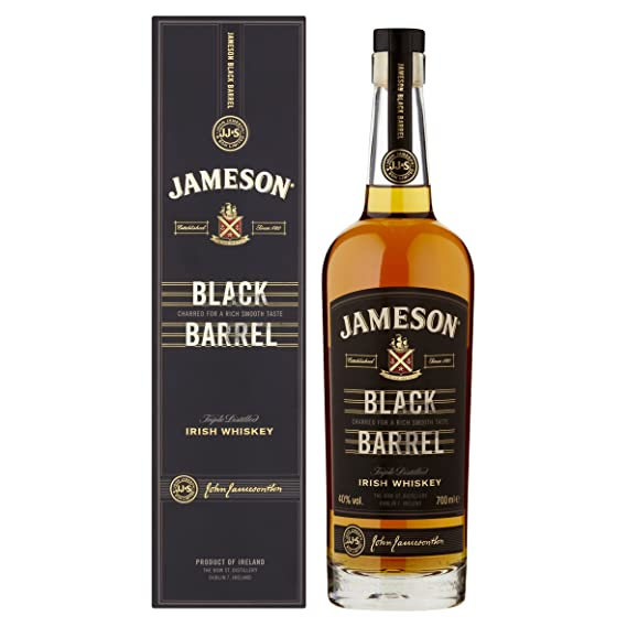 b489462764 Jameson Black Barrel Irish Whiskey