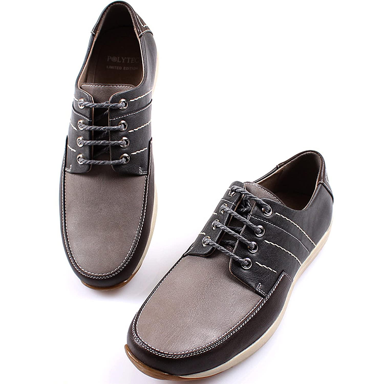 Amazon com   Polytec New Modern Casual Formal Lace up Oxford Men