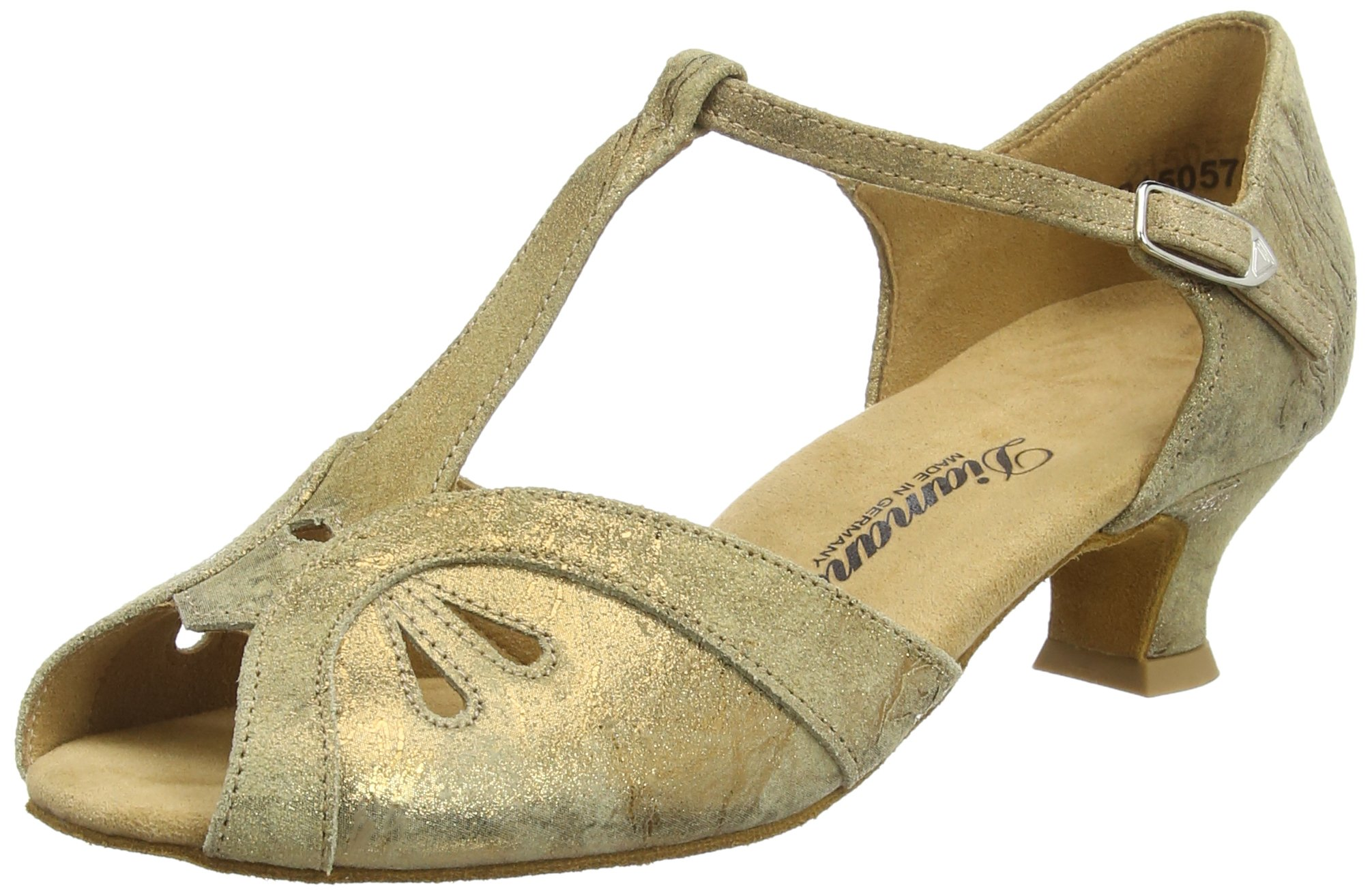 Diamant Womens Dance Shoes 019-011-311 Bronce Magic Leather 8B(M) US