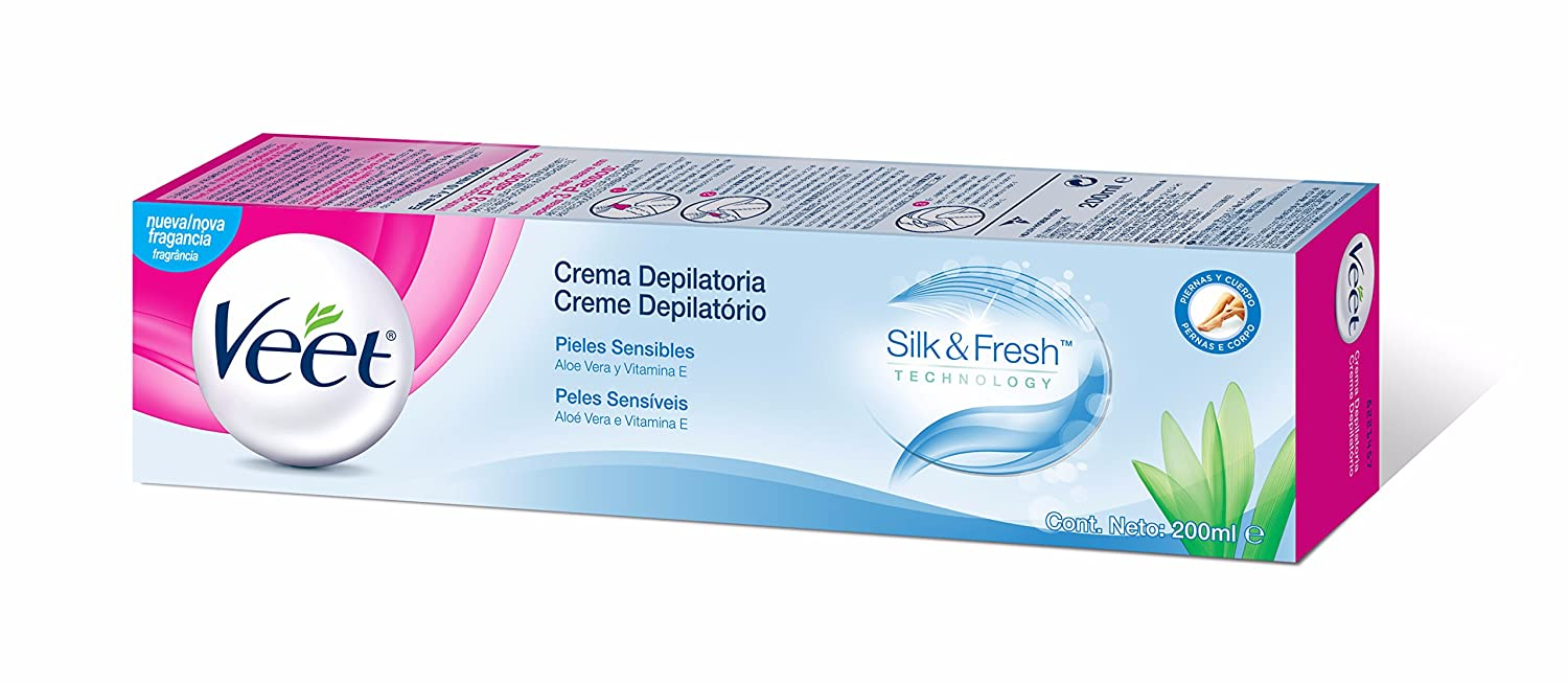 Amazon.com : CREMA DEPILATORIA piel sensible 200 ml : Beauty