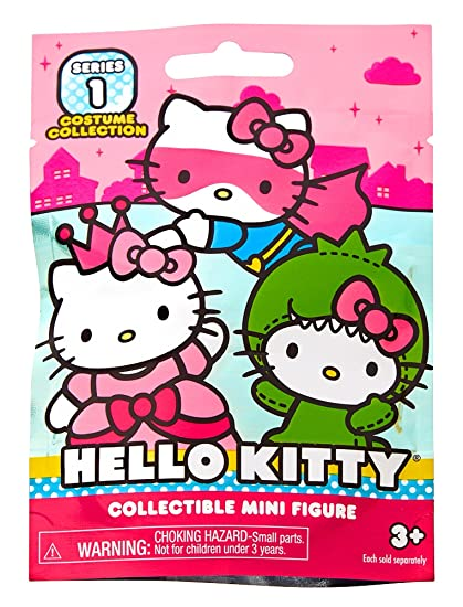 cd6796f16 Amazon.com: Hello Kitty Blind Bag mini Figure- Costume Collection-Series 1:  Toys & Games