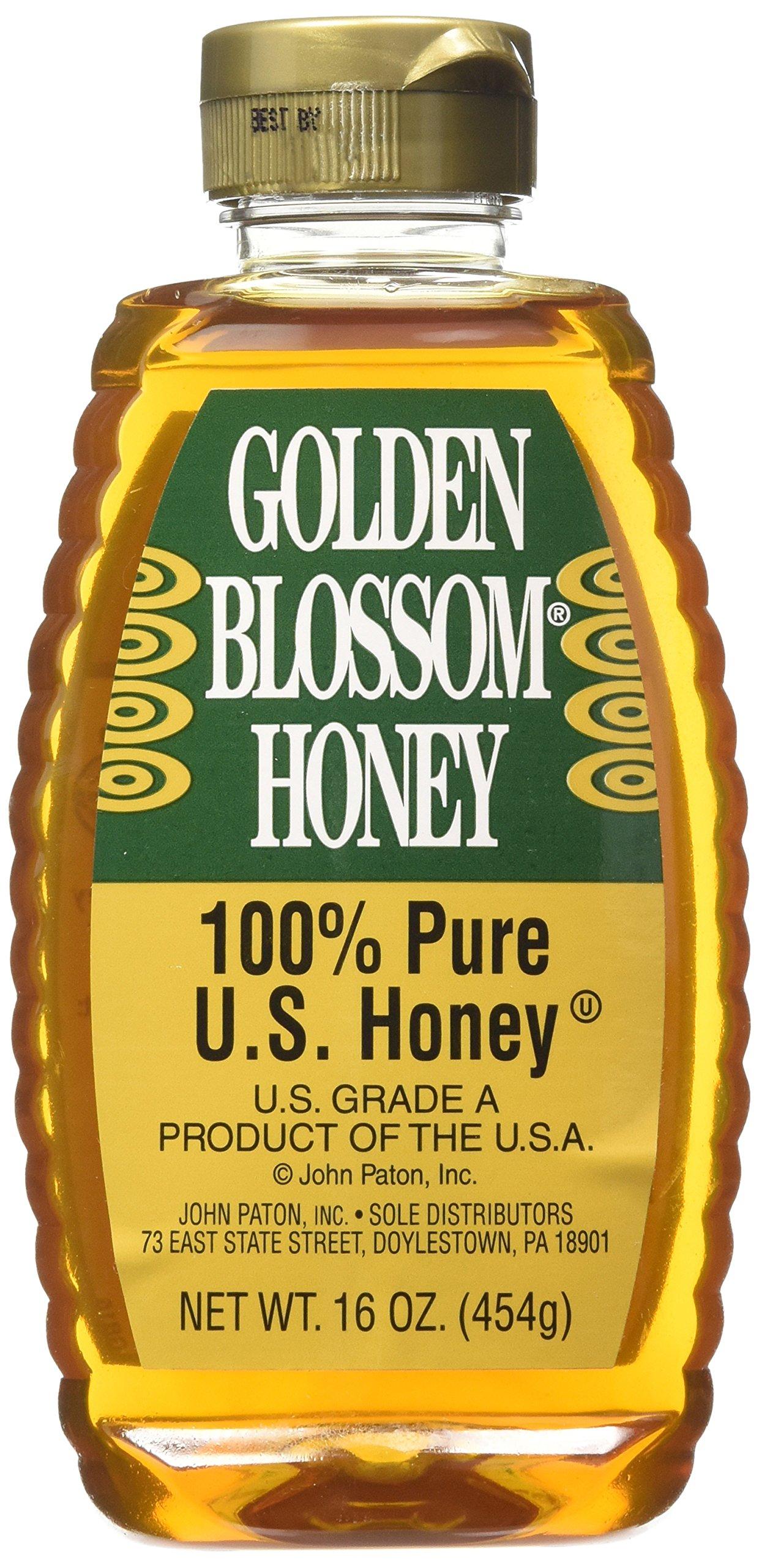 Golden Blossom Genuine Natural Pure Honey (732674) 16 oz