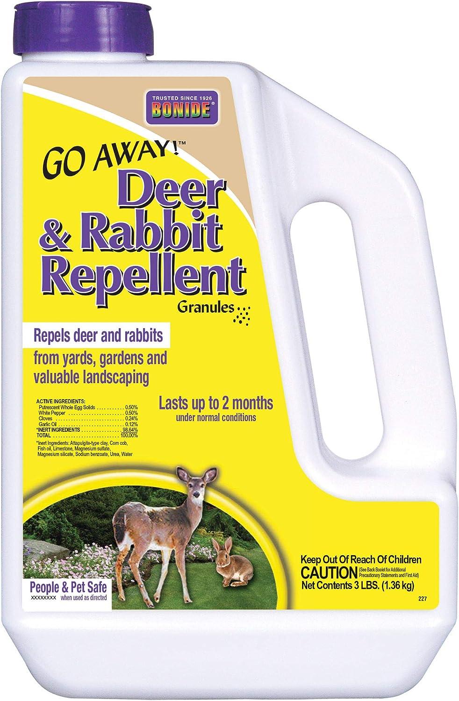 Bonide Products Inc. 227 B004UB8JX0 Bonide 3-Pound Go Away Deer and Rabbit Repellent-227, 3 lb, Multicolor