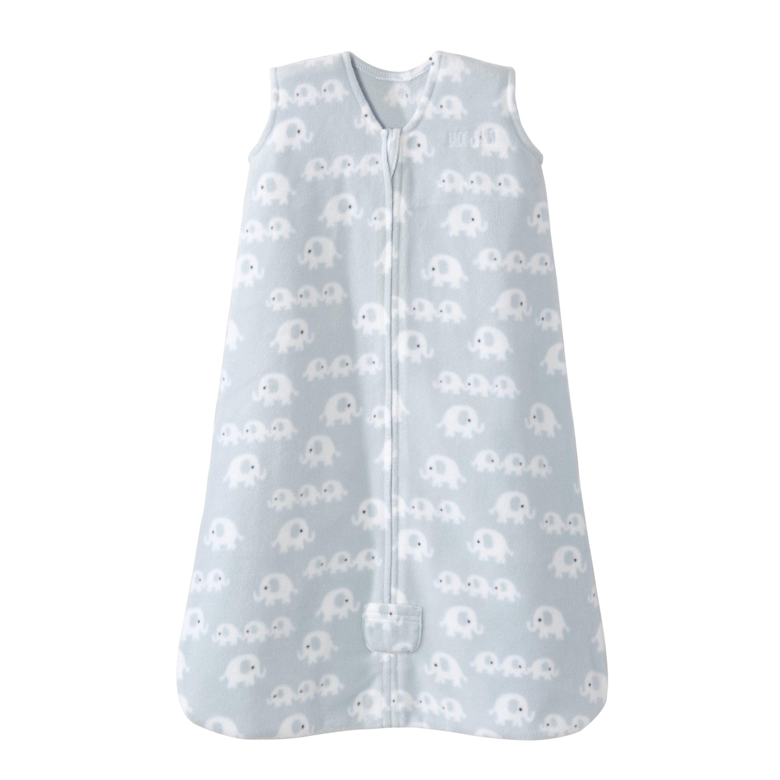 Amazon.com  Halo Sleepsack Wearable Blanket Micro Fleece - 3 Elephants  Blue ce0cf009b