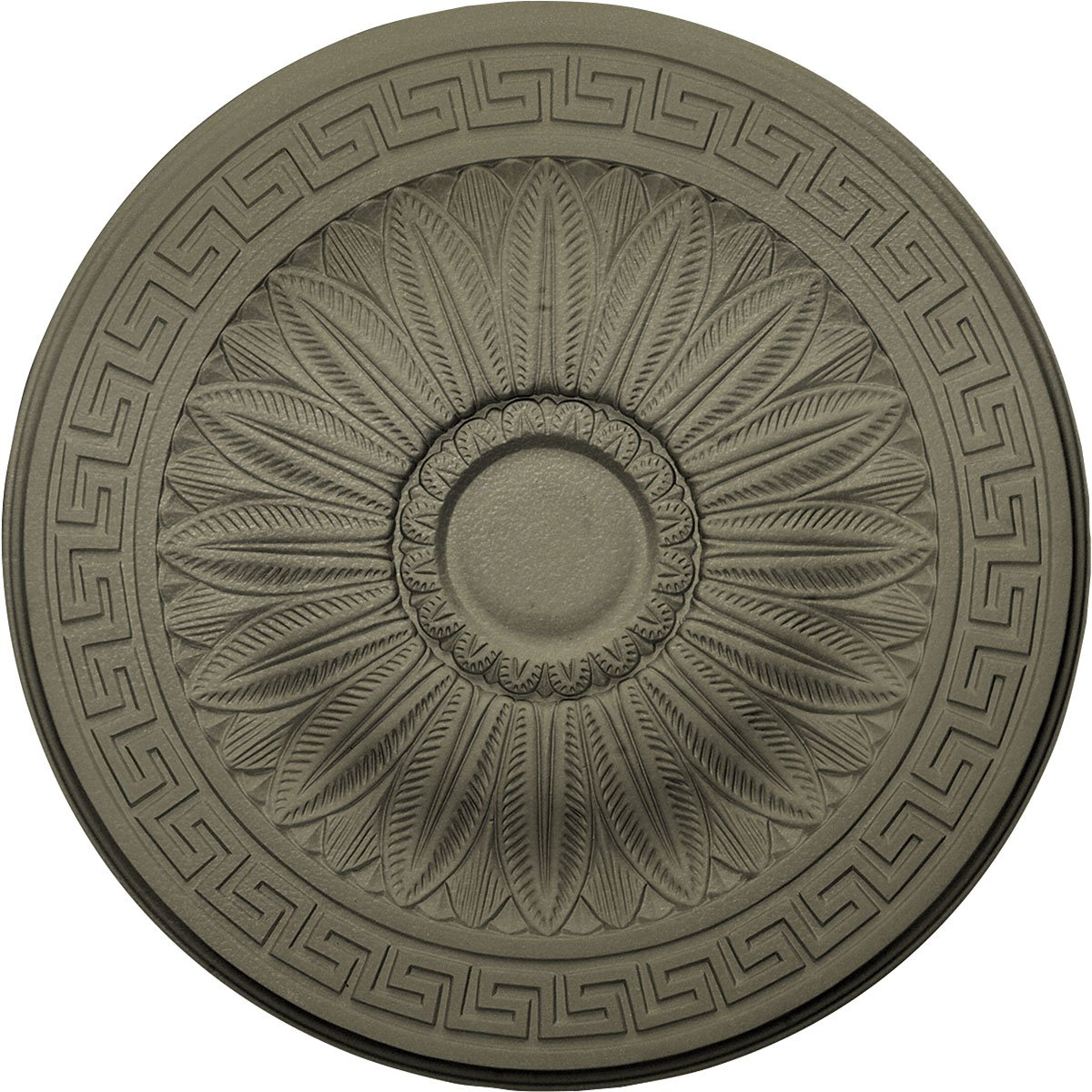 Ekena Millwork CM20HASSF Randee Ceiling Medallion fits Canopies up to 3 7/8'', Spartan Stone