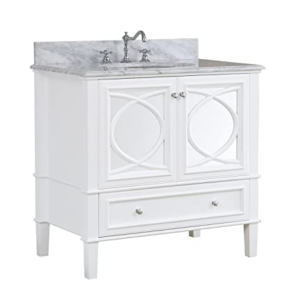 Olivia 36-inch Bathroom Vanity (Carrara/White): Includes a Carrara on 36 inch vanity combo, 36 inch dressers, 36 inch bathroom vanity cabinets, 36 inch chairs, 36 inch hips, 36 inch bathroom lighting, 36 inch bathroom mirrors, 36 inch tile, 36 inch bathroom vanity light, 36 inch sinks, 36 inch counter tops, 36 inch marble vanity top, 36 inch modern vanity, 36 inch bathroom countertop, 36 inch barstools, 36 inch bathroom vanity gray, 36 inch bathroom shelves, 36 inch white vanity, 36 inch mirrored vanity, 36 inch bathroom vanity set,