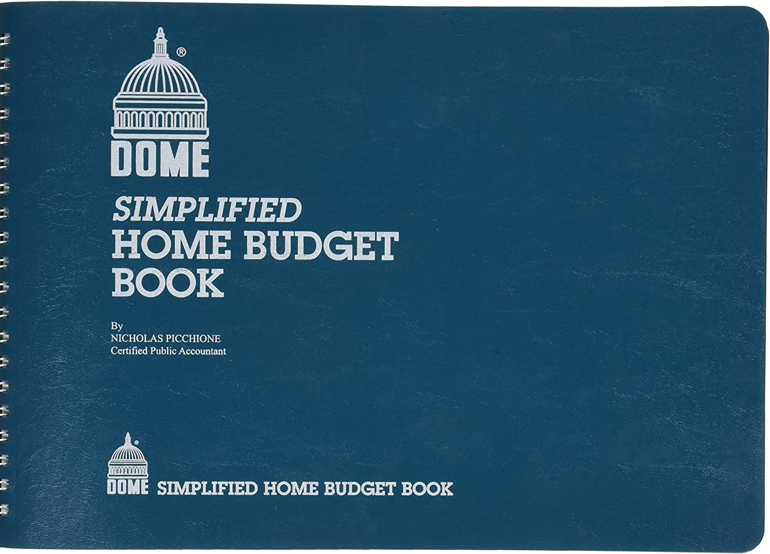 DOM840 - Dome Simplified Home Budget Book