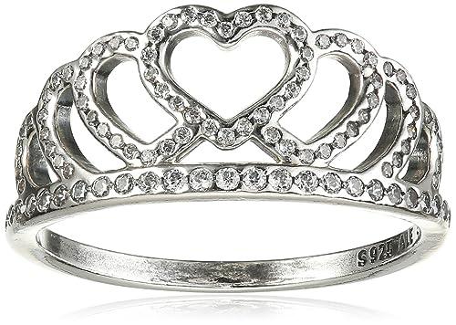 anello donna con cuore pandora