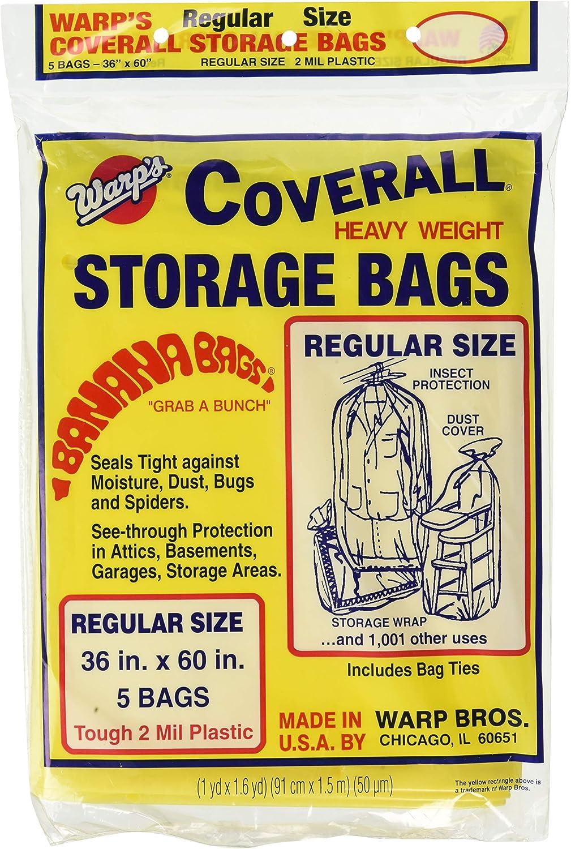 "B000VBDZXC Warp Brothers FBA_CB-36 CB-36 Banana, 5-36""x60"" Regular Storage Bags 81QV3ZXHWKL"