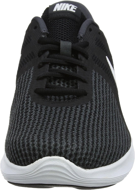 Nike Revolution 4 EU\', Chaussures de Running Homme Noir Black White Anthracite