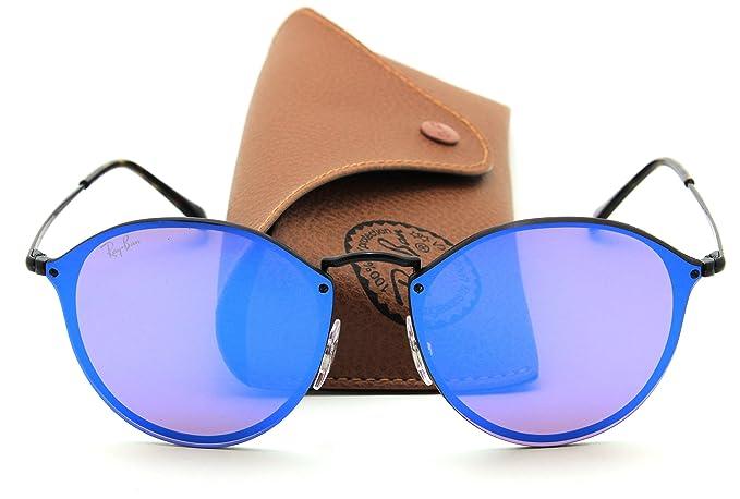 a92f1b340bcca Ray-Ban RB3574N BLAZE ROUND Mirror Sunglasses 153 7V, 59mm  Amazon ...