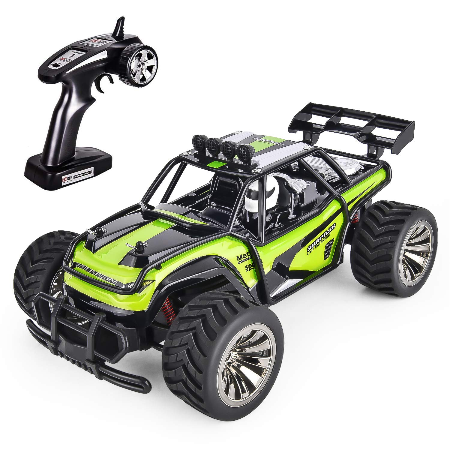 Remote Control Cars >> Gotechod Rc Cars For Kids Remote Control Car Toys Remote Control Truck Rc Vehicle Crawler Off Road Radio Controlled Car Toys For Age 6 7 8 9 10 11 16