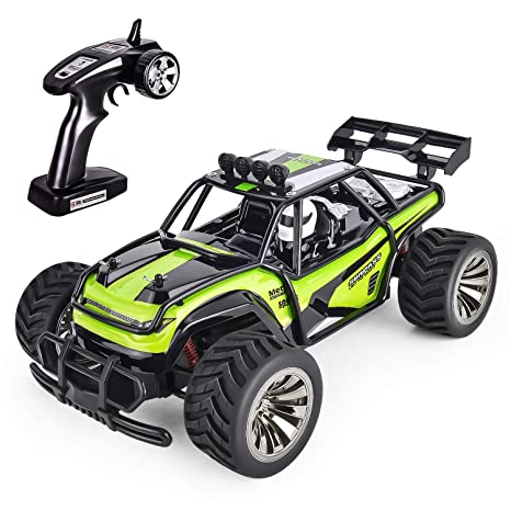 Gotechod Rc Cars For Kids Remote Control Car Toys Remote Control Truck Rc Vehicle Crawler Off Road Radio Controlled Car Toys For Age 6 7 8 9 10 11 16