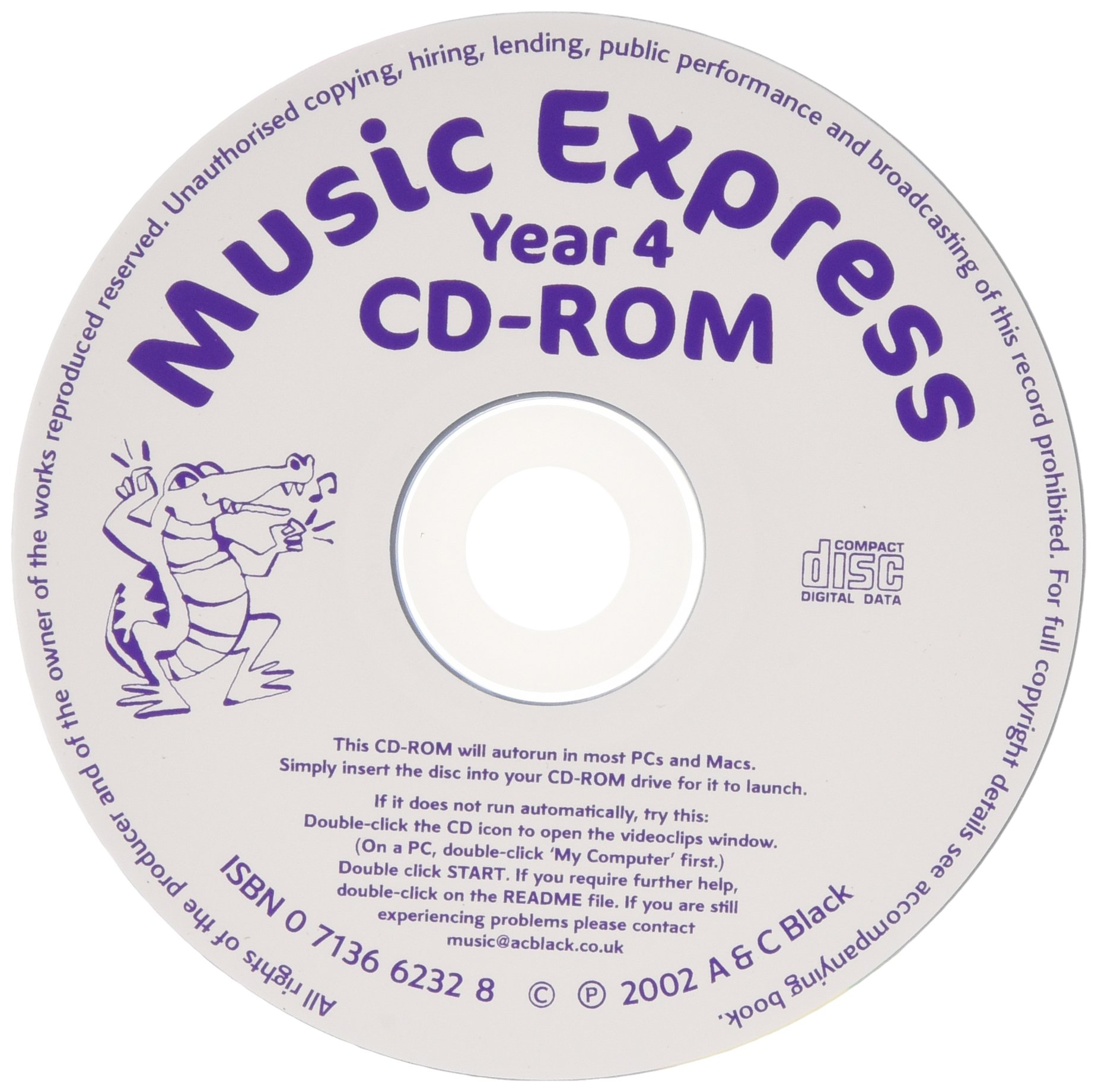 Music Express - Music Express Yr 4 Replacement CD-R: Amazon