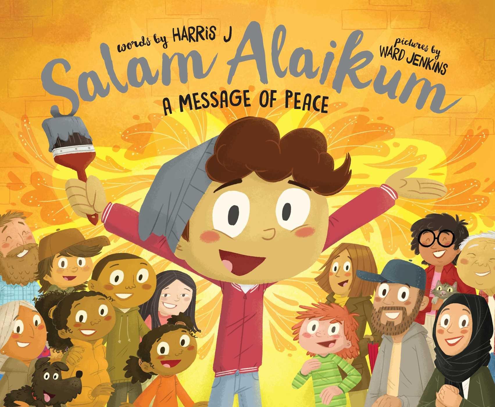 Amazon com: Salam Alaikum: A Message of Peace (9781481489386