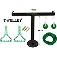 Chikitsa Wall Hanging T-Pulley Shoulder Pulley Set for Frozen Shoulder Exercise