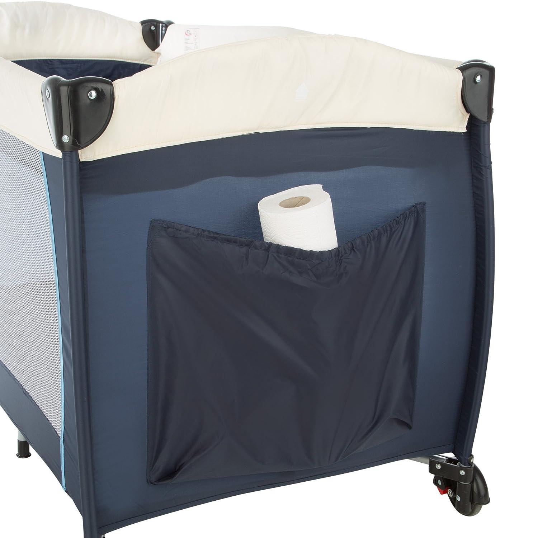 TecTake Culla lettino da viaggio campeggio regolabile in altezza beb/é box Beige   No. 402204 disponibile in diversi colori