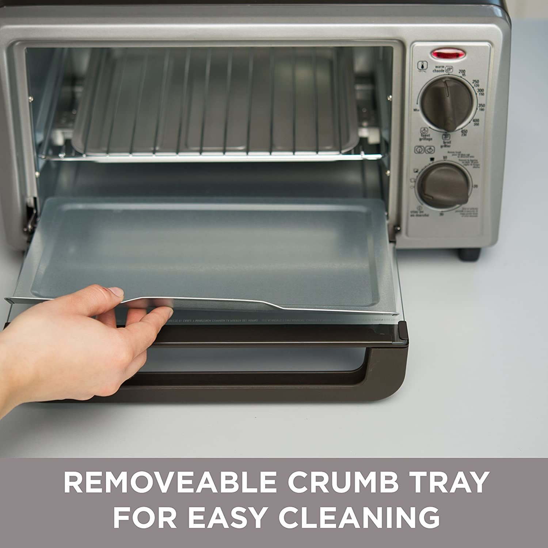 Amazon BLACK DECKER 4 Slice Countertop Toaster Oven