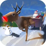 Santa Claus: Christmas Gifts Free - 3D Sleigh Driving Game