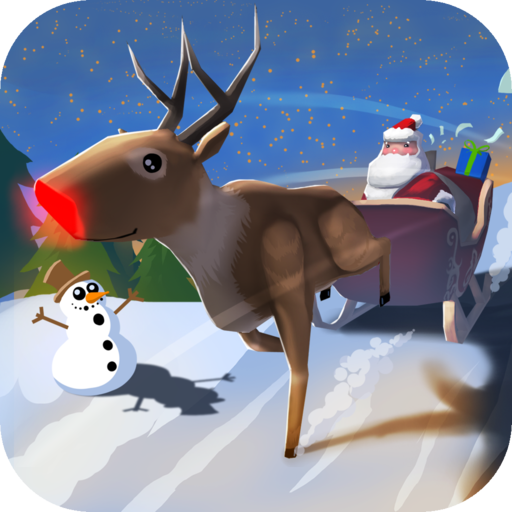 (Santa Claus: Christmas Gifts Free - 3D Sleigh Driving Game)