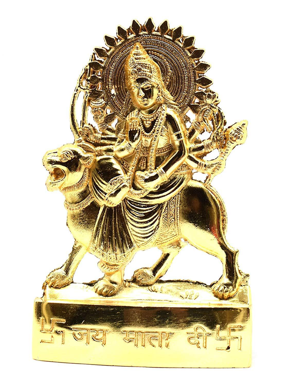 Nexxa Estatua de Sri Durga Shakti Yantra Yoga Tantra Estatua ...