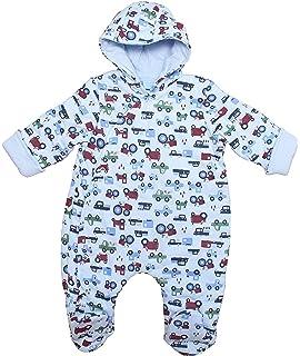 b896860fa Bebe Bonito Baby Fluffy Fleece Hooded Pramsuit Snowsuit Coat Unisex ...