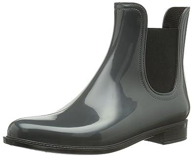 Grau Women's Ck Lulu elastic Calving Boots Gray Klein Rubber rxodeWCB