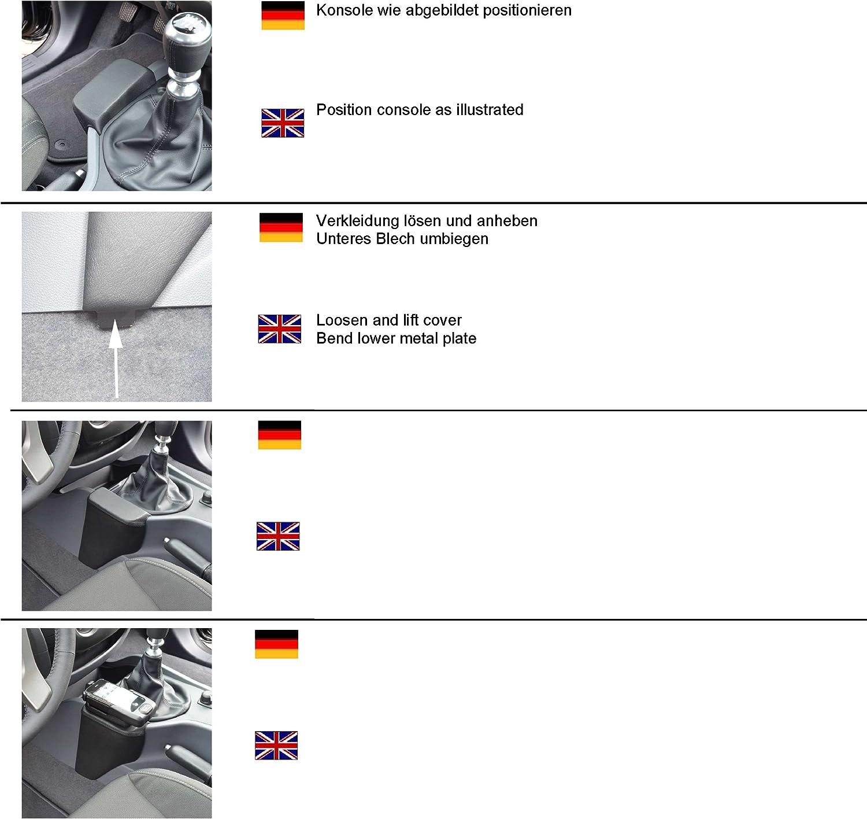 Schwarz Carshades FOR-RANG-4-D Car Shades Sonnenblenden