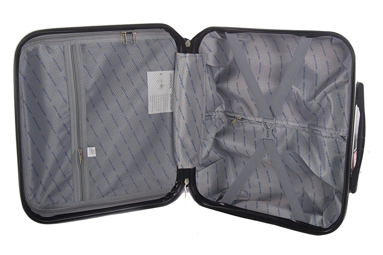 222492e35 Bolsa profesional trolley pilota PIERRE CARDIN plata rígida VS161:  Amazon.es: Ropa y accesorios
