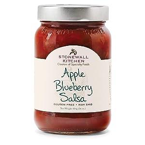 Stonewall Kitchen Apple Blueberry Salsa, 16 Ounces
