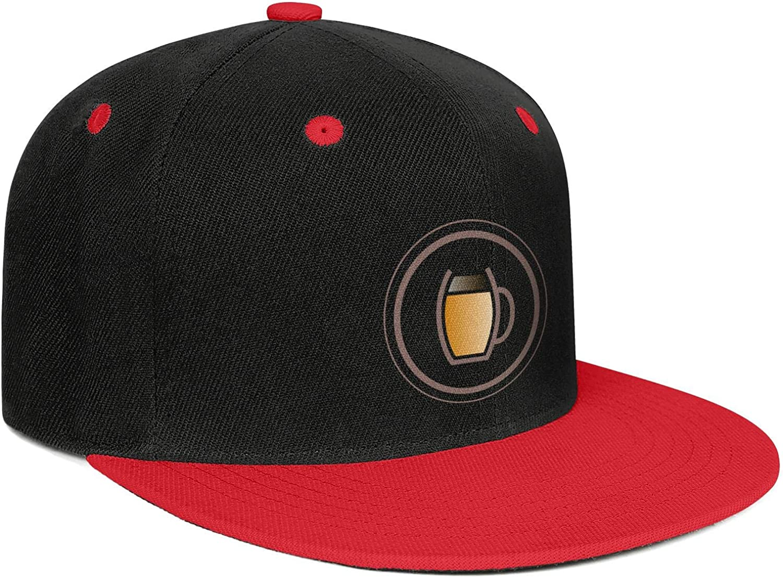 Cap Fashion Workout Caps Hats HIRGOEE Mens Womans Whiskey-Logo-Pattern-Design