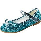 Cadidi Dinos Little Girl's Adorable Sparkle Princess Party Girls Dress Shoes
