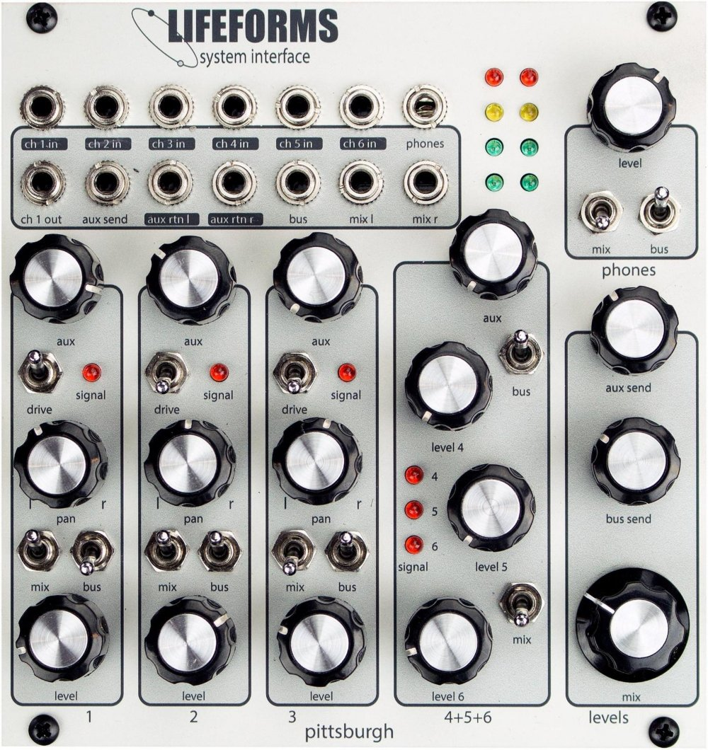 Pittsburgh Modular Synthesizers LIFEFORMS SYSTEM INTERFACE by Pittsburgh Modular Synthesizers