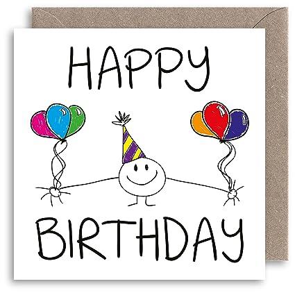 Tarjeta de cumpleaños única, tarjeta de cumpleaños divertida ...