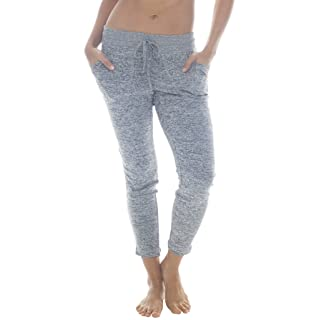 90 Degree By Reflex - Yoga Lounge Pants - Loungewear and Activewear - Heather Grey Large