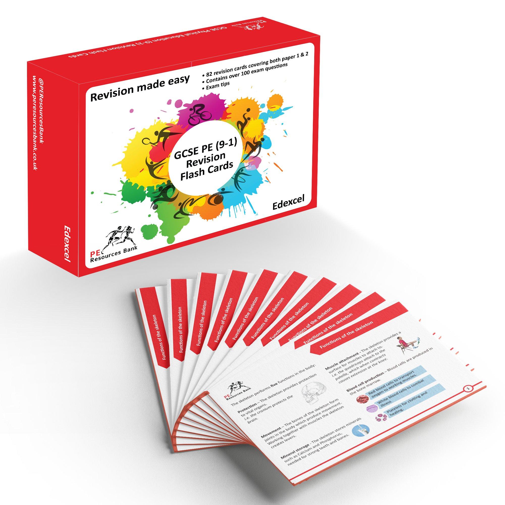 GCSE Physical Education (9-1) Revision Flash Cards: Amazon
